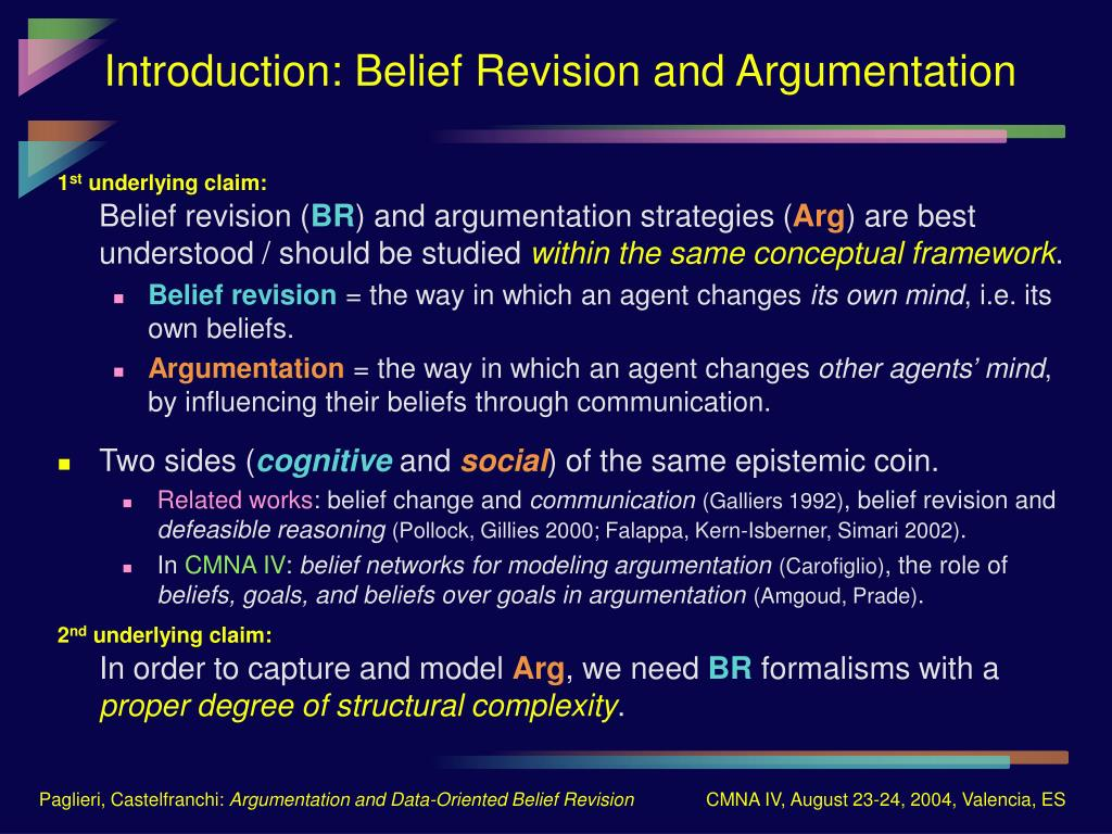 Introduction: Belief Revision and Argumentation