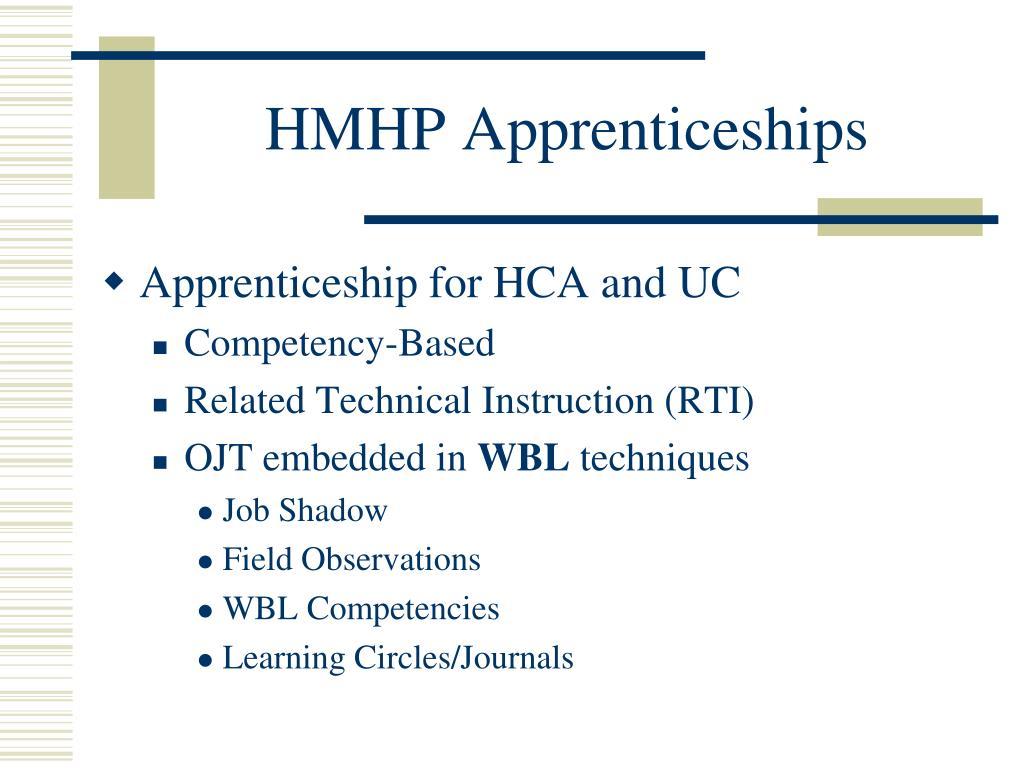 HMHP Apprenticeships