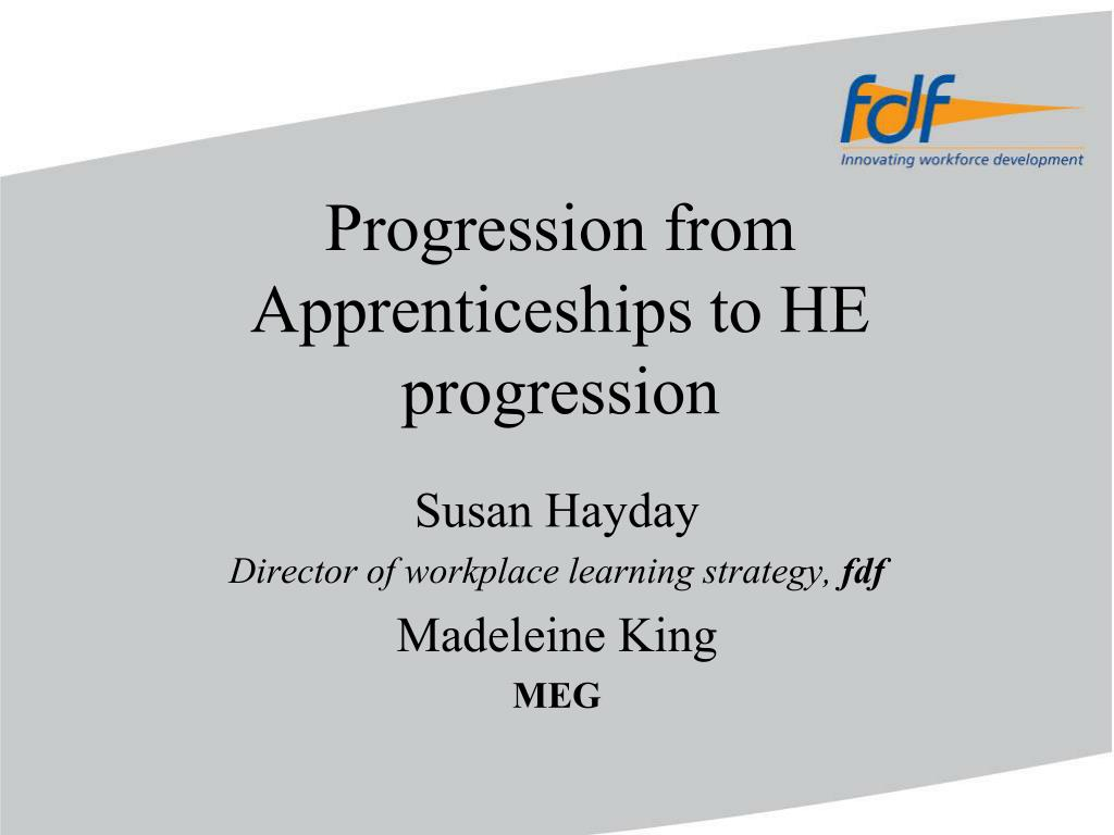 progression from apprenticeships to he progression l.