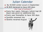 julian calendar57