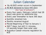 julian calendar60