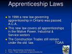 apprenticeship laws