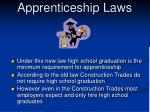 apprenticeship laws26