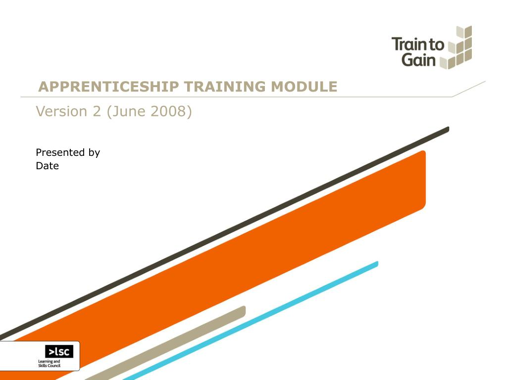 apprenticeship training module l.