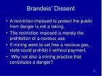 brandeis dissent