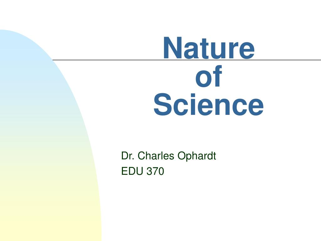 nature of science l.
