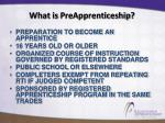 what is preapprenticeship