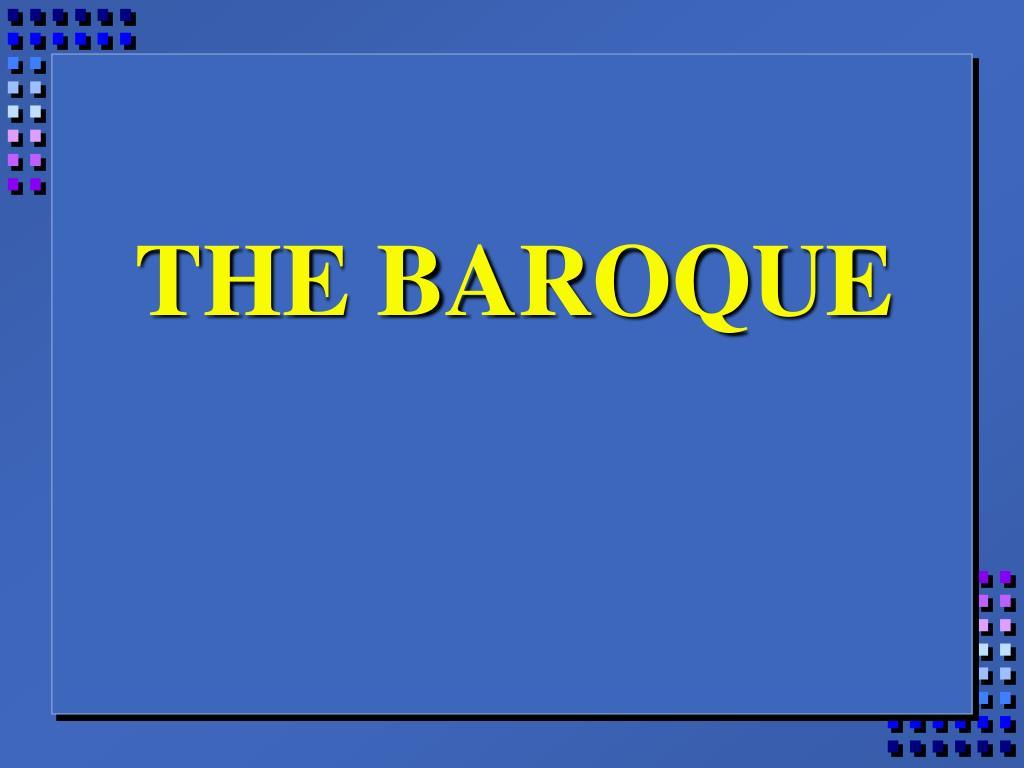 the baroque l.