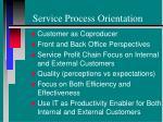 service process orientation