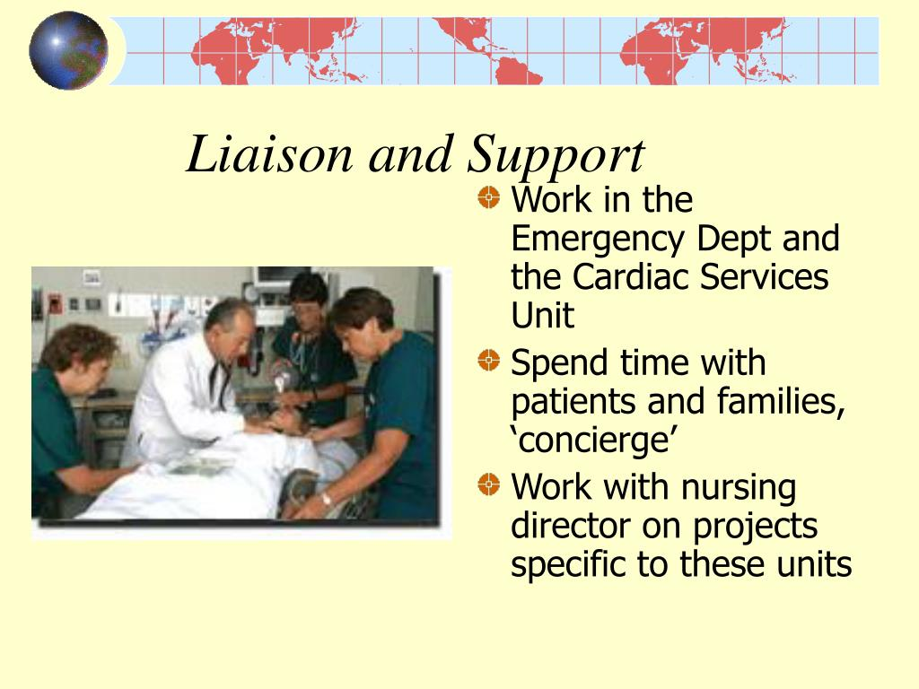 Liaison and Support