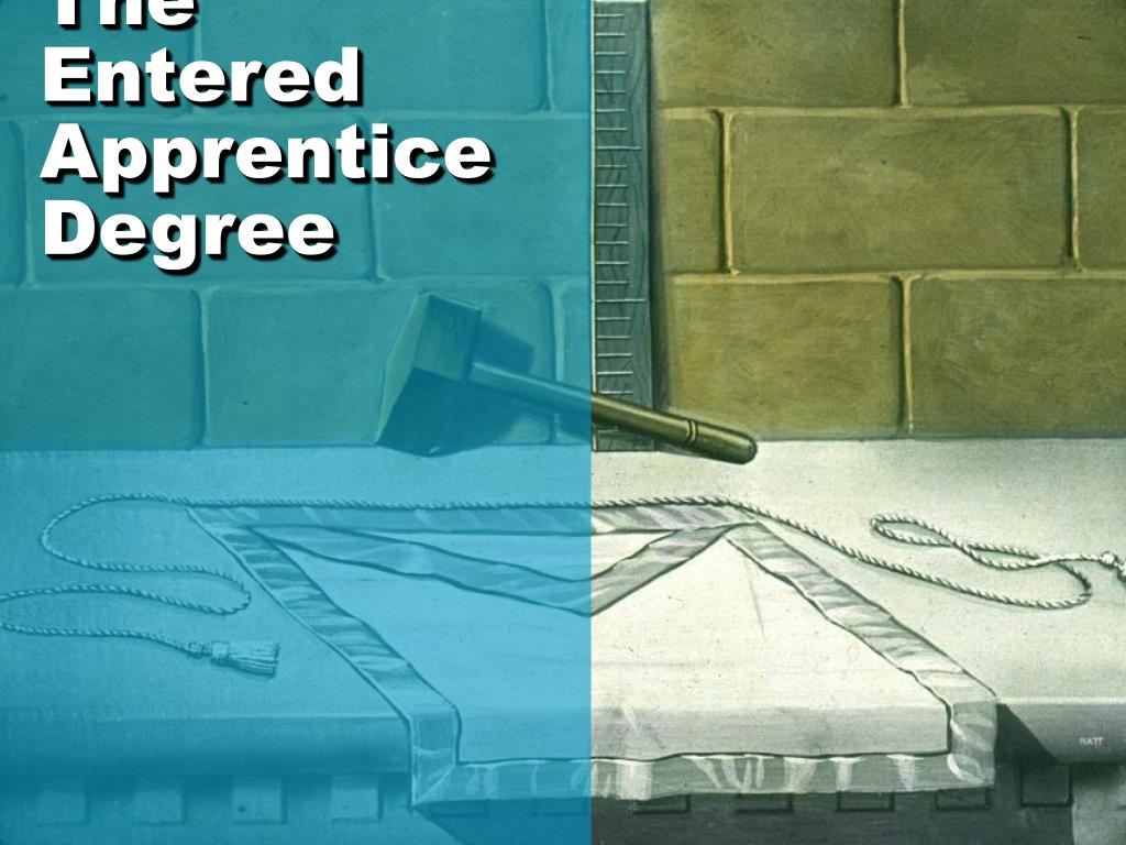 the entered apprentice degree l.