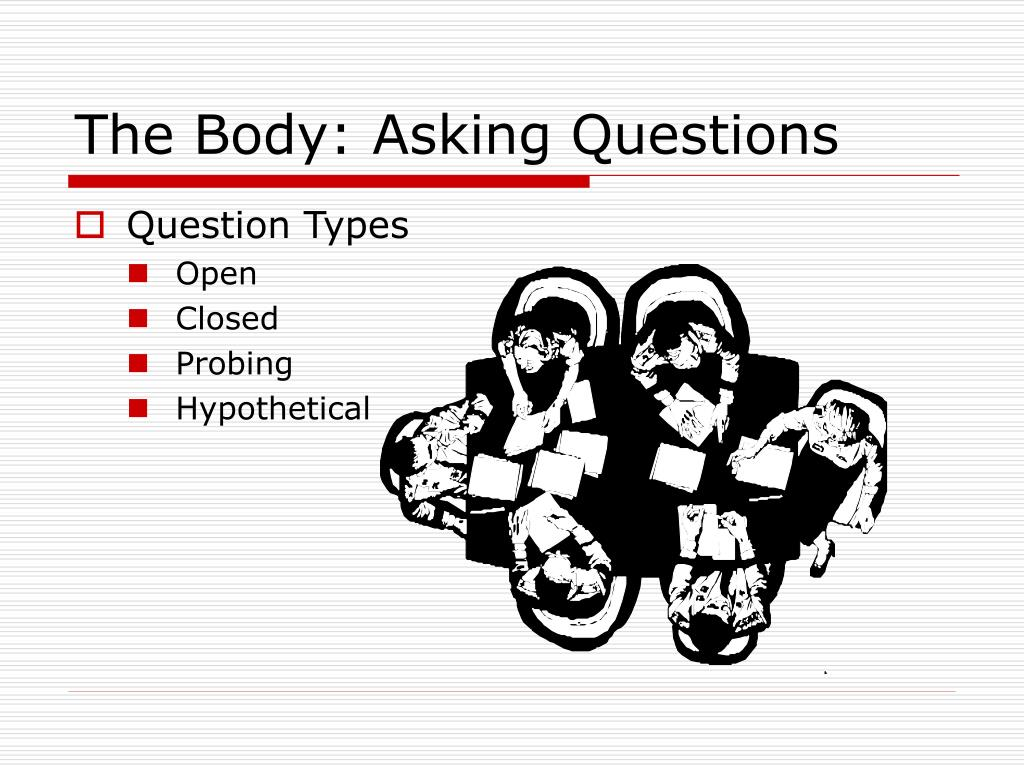 The Body: Asking Questions