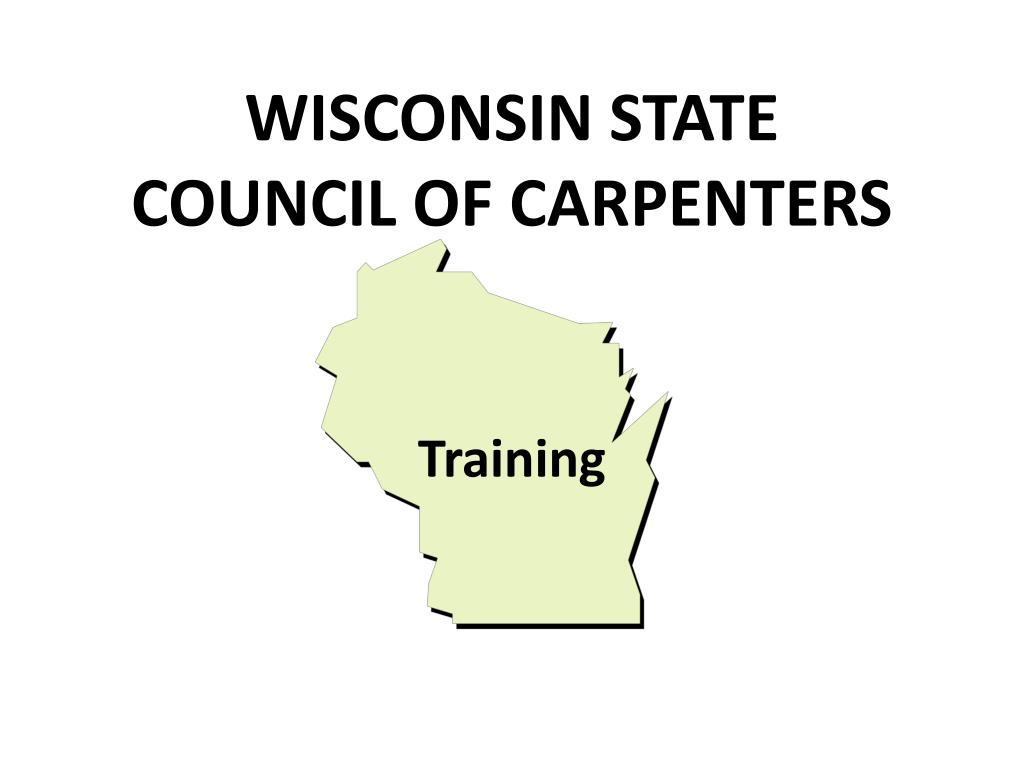 wisconsin state council of carpenters l.