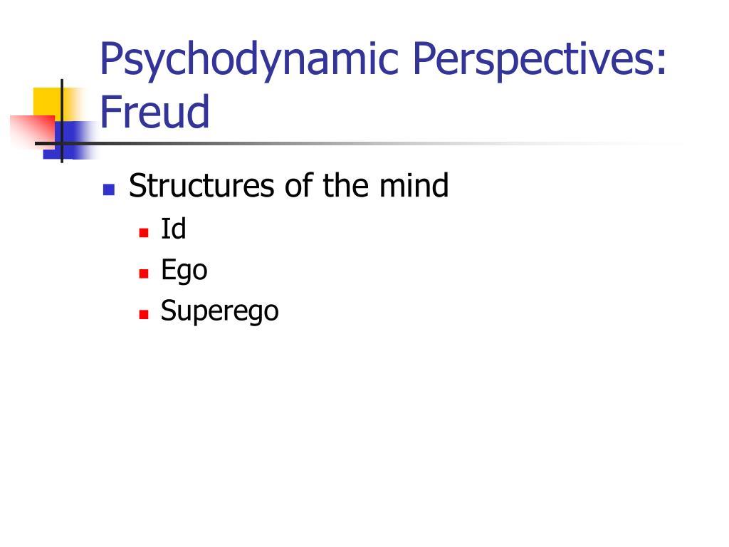 Psychodynamic Perspectives: Freud