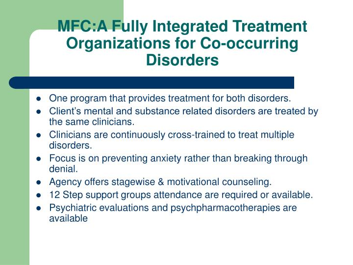 MFC:A Fully Integrated Treatment