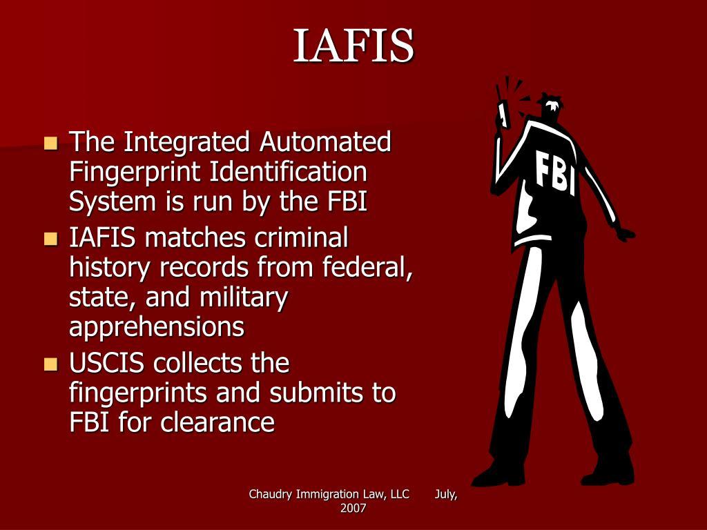 IAFIS