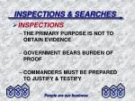 inspections searches35