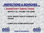 inspections searches38