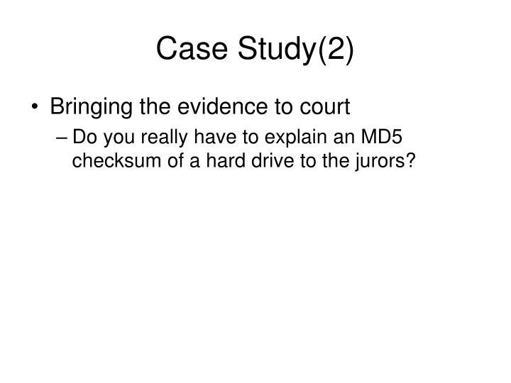 Case Study(2)