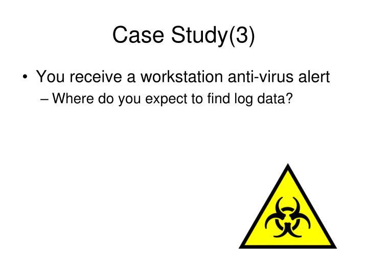 Case Study(3)