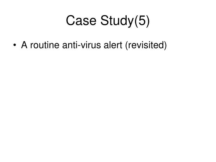 Case Study(5)