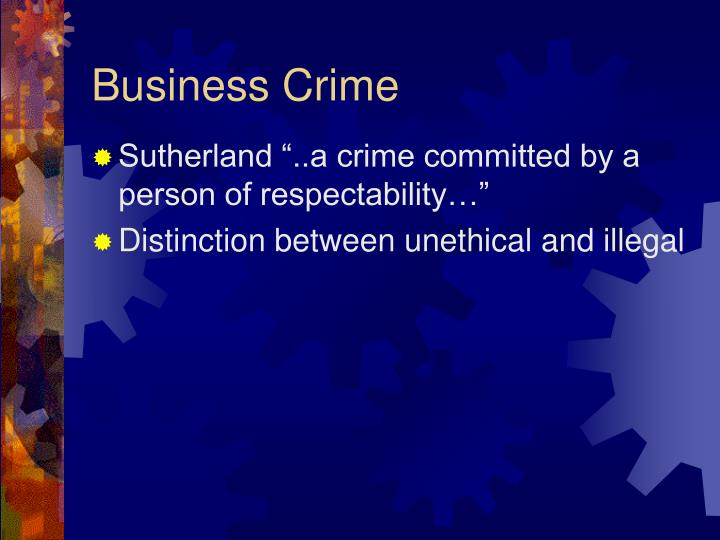 Business crime2