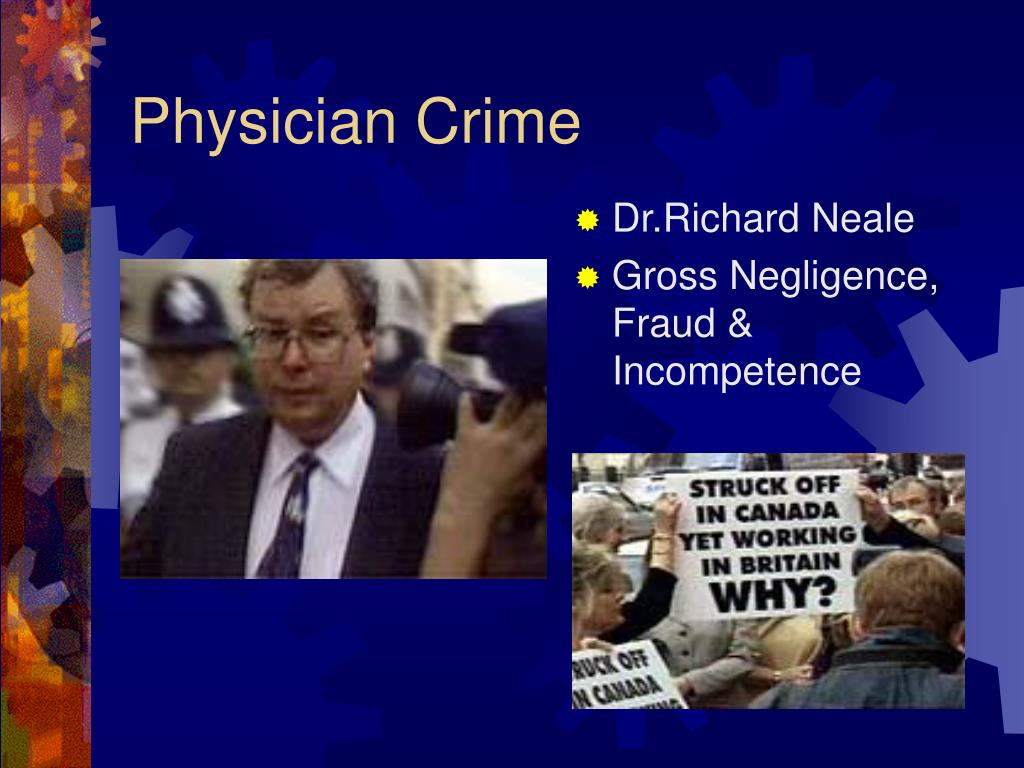 Physician Crime