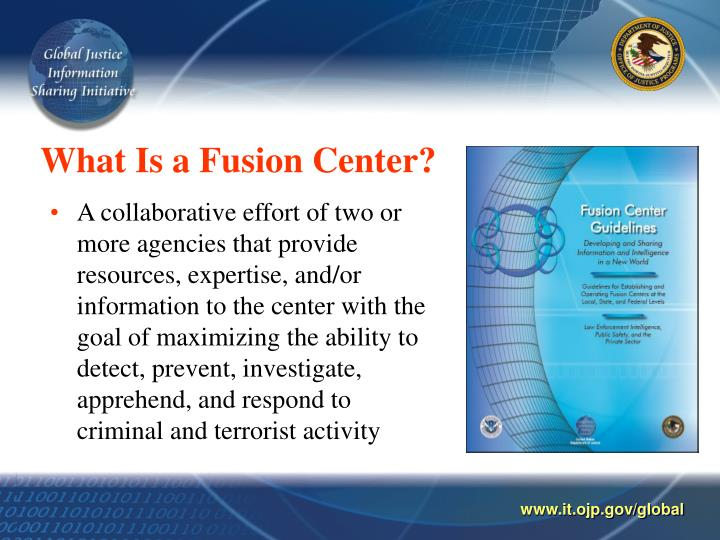 What is a fusion center