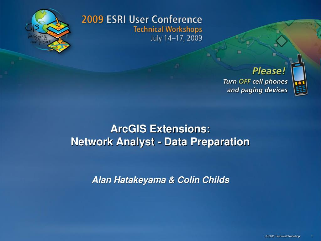 arcgis extensions network analyst data preparation l.