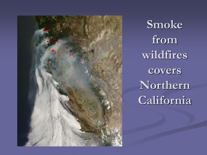 Smoke from wildfires