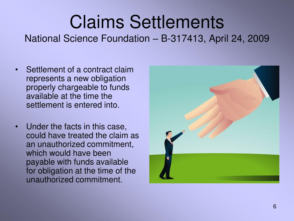 Claims Settlements
