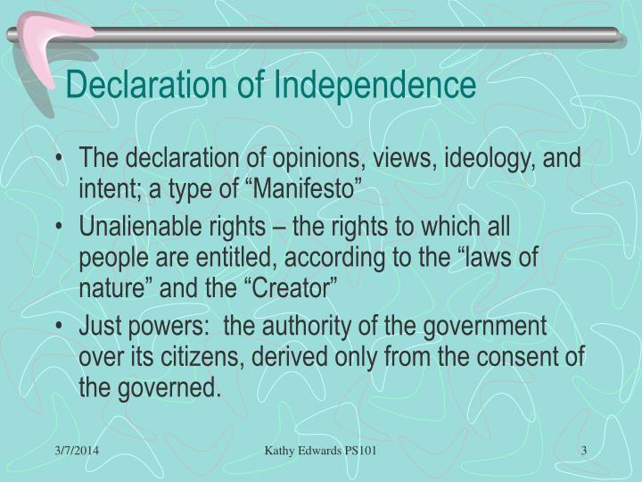 Declaration of independence3