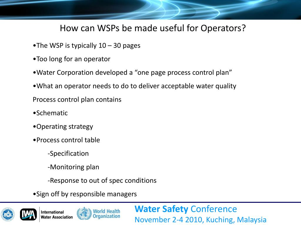 How can WSPs be made useful for Operators?
