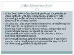 false discovery rate16