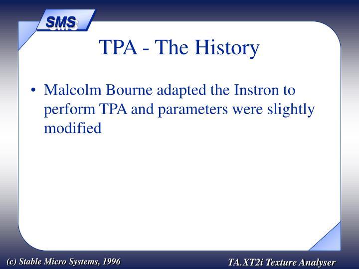 Tpa the history3