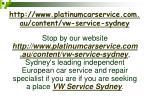 http www platinumcarservice com au content vw service sydney7