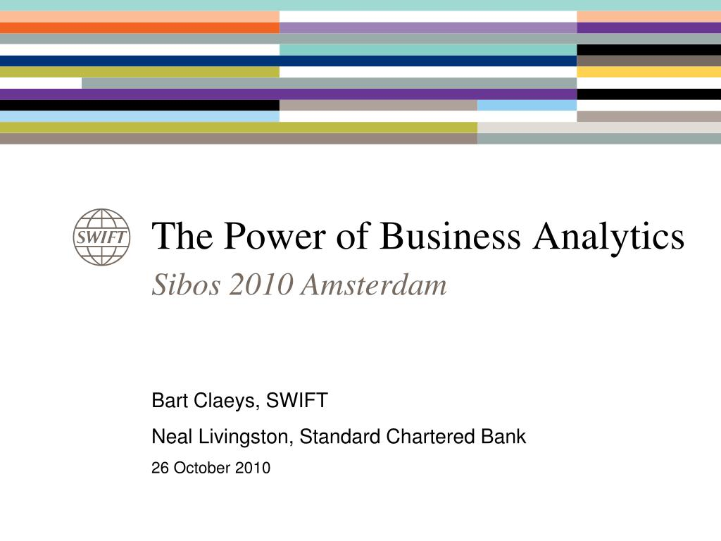 the power of business analytics