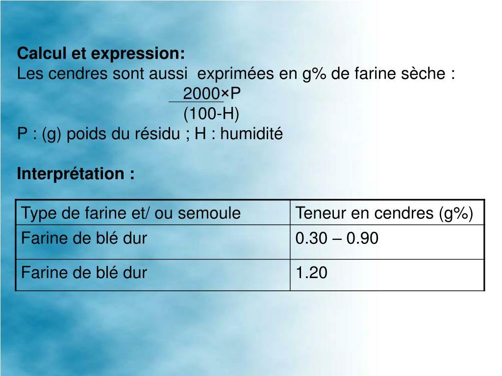 Calcul et expression: