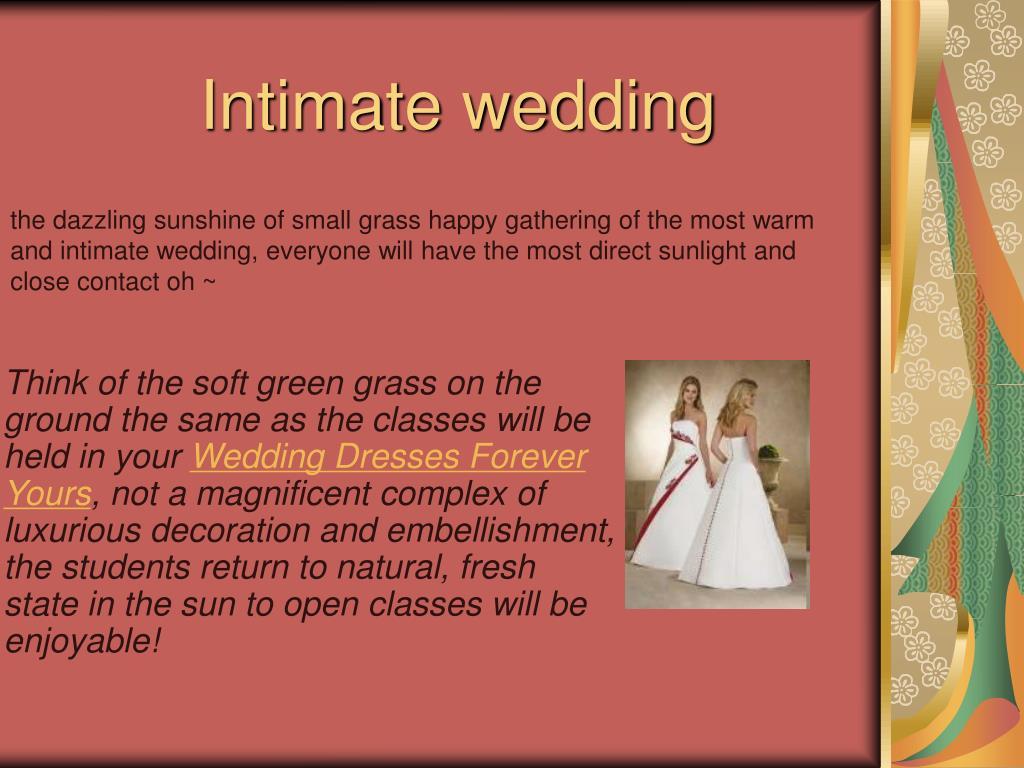 intimate wedding l.