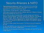security alliances nato
