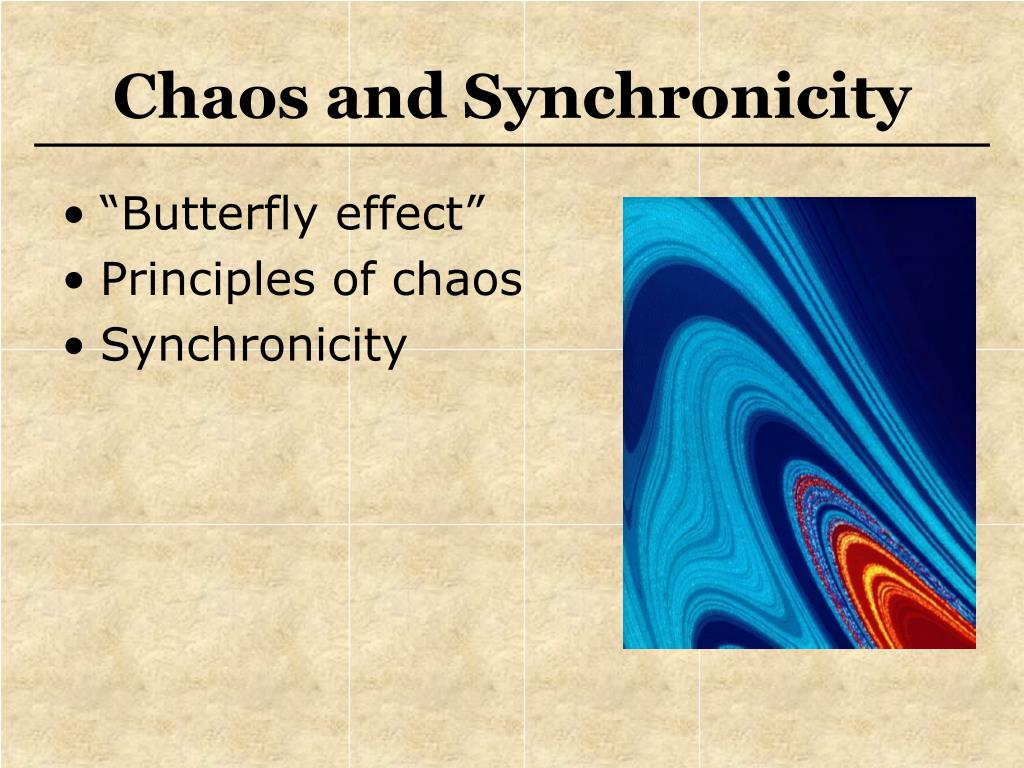 Chaos and Synchronicity