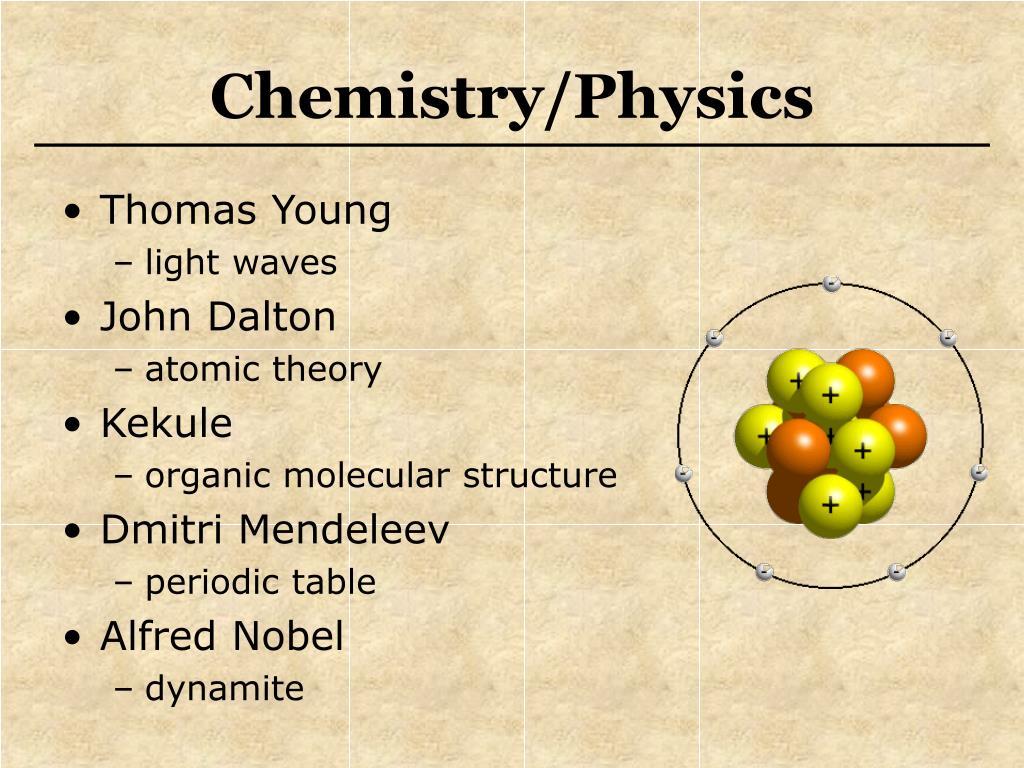Chemistry/Physics