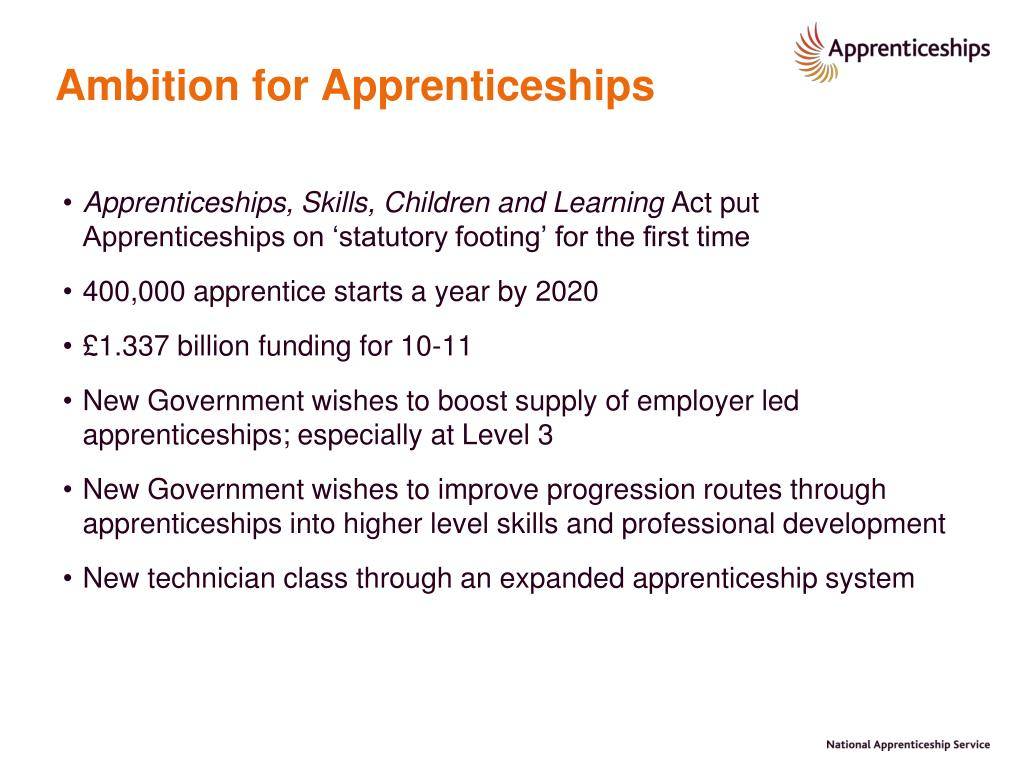 Ambition for Apprenticeships
