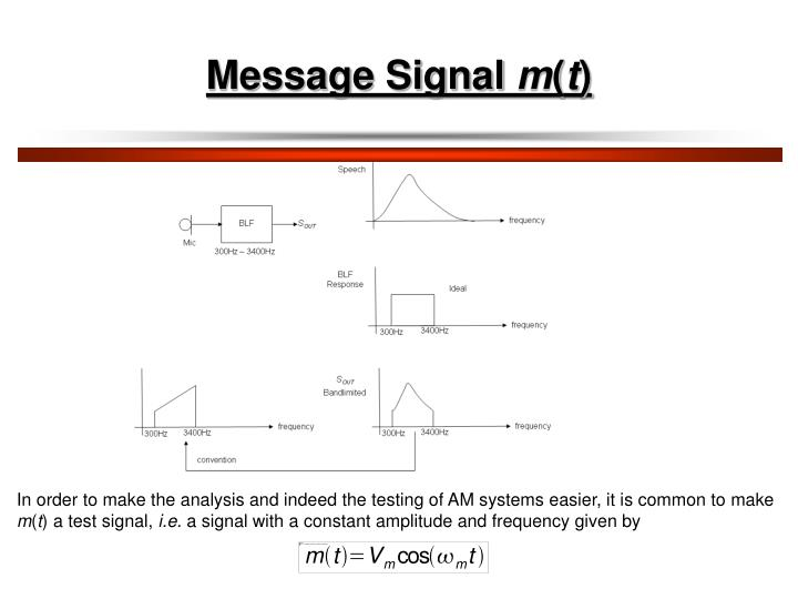 Message Signal