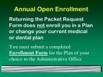 annual open enrollment52