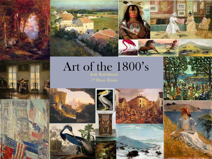 Art of the 1800 s