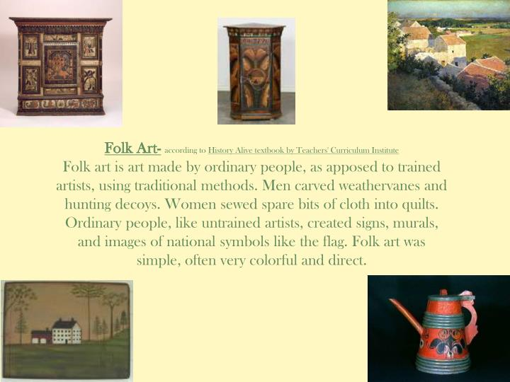 Folk Art-