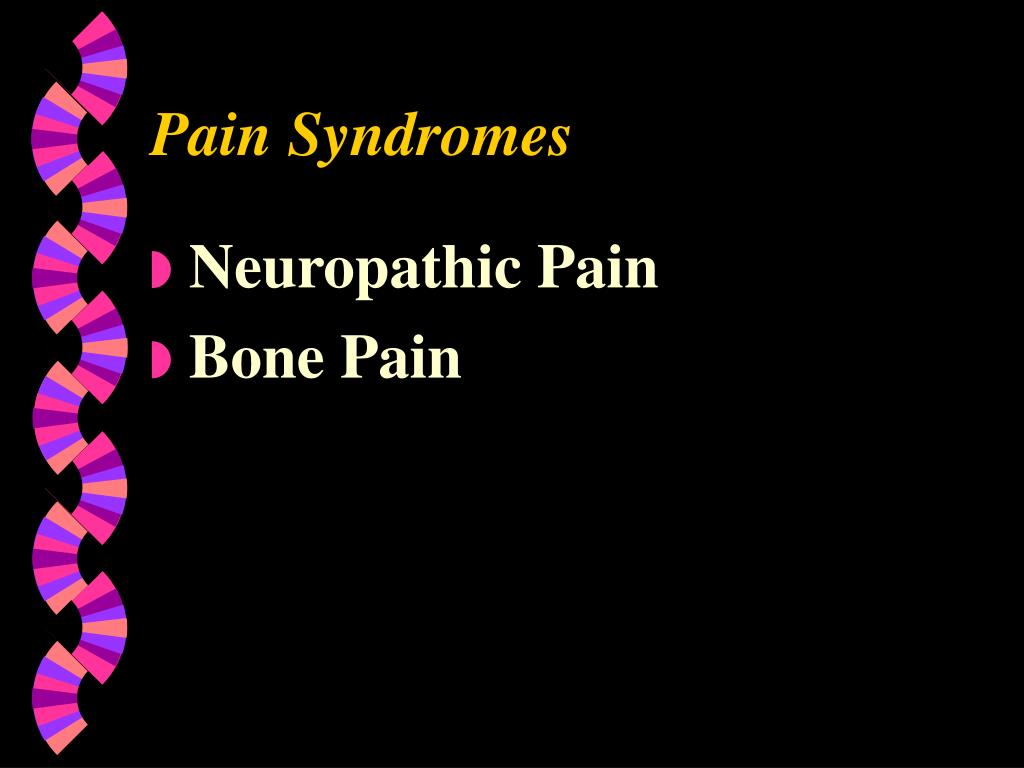 Pain Syndromes