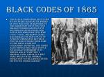 black codes of 18656