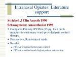 intranasal opiates literature support16